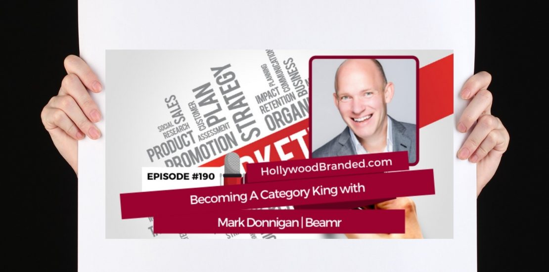 Hollywood Branded Mark Donnigan Category Design Podcast Cover Image