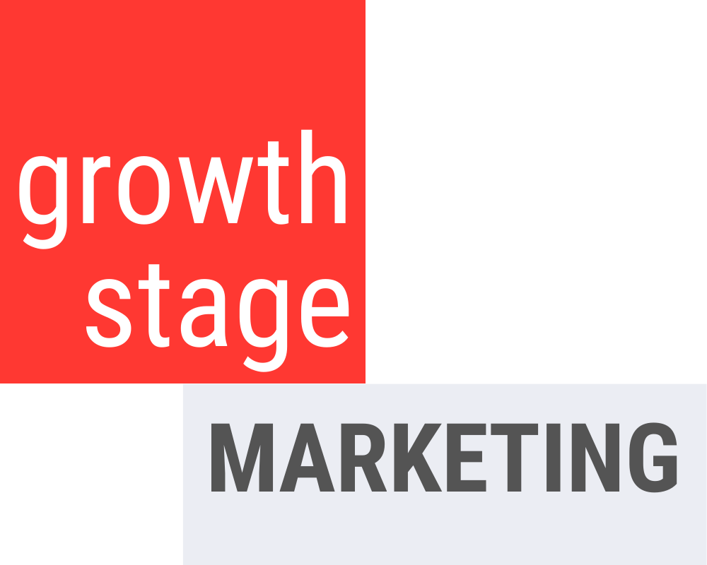 growth stage marketing logo