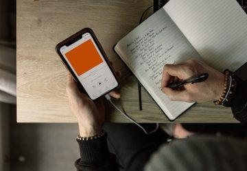 audio marketing platform - unsplash